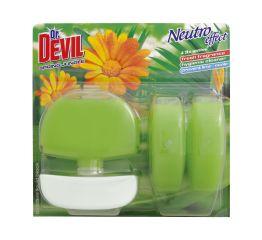 WC geel dr DEVIL 3x55ml + konteiner spring jungle