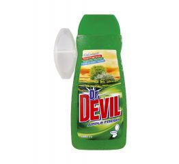 WC geel dr DEVIL 400 ml apple+ riputatav konteiner