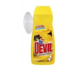 WC geel dr DEVIL 400 ml lemon+ riputav konteiner